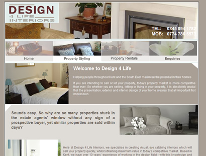 Webster Web Design Client Site